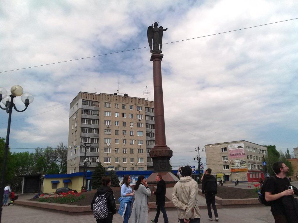 розкішний монумент «Янгол-охоронець України»