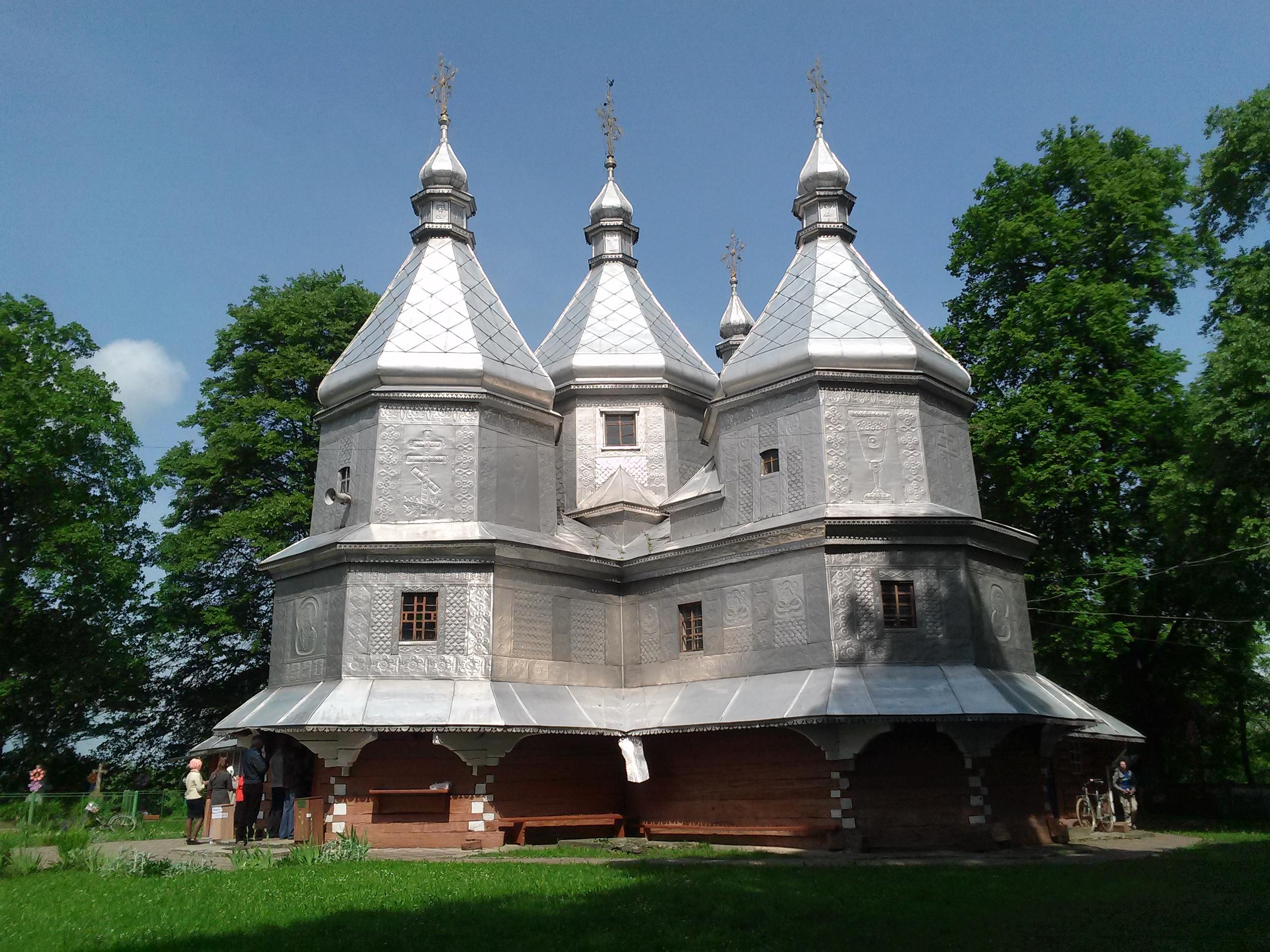 Церква Пресвятої Богородиці у с. Нижній Вербіж