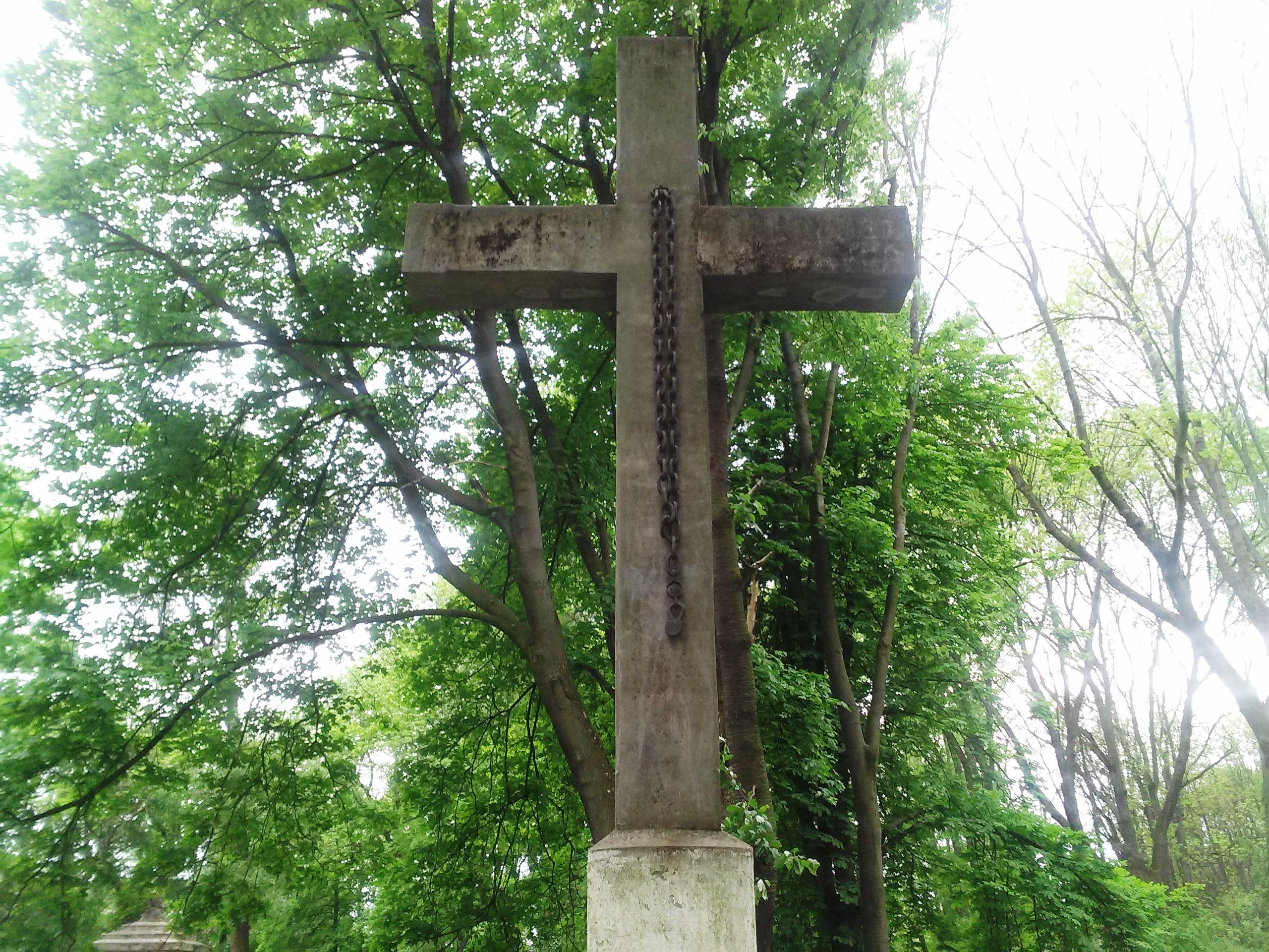 пам'ятник полякам інтернованих у 1918-1919 роках м. Колимия