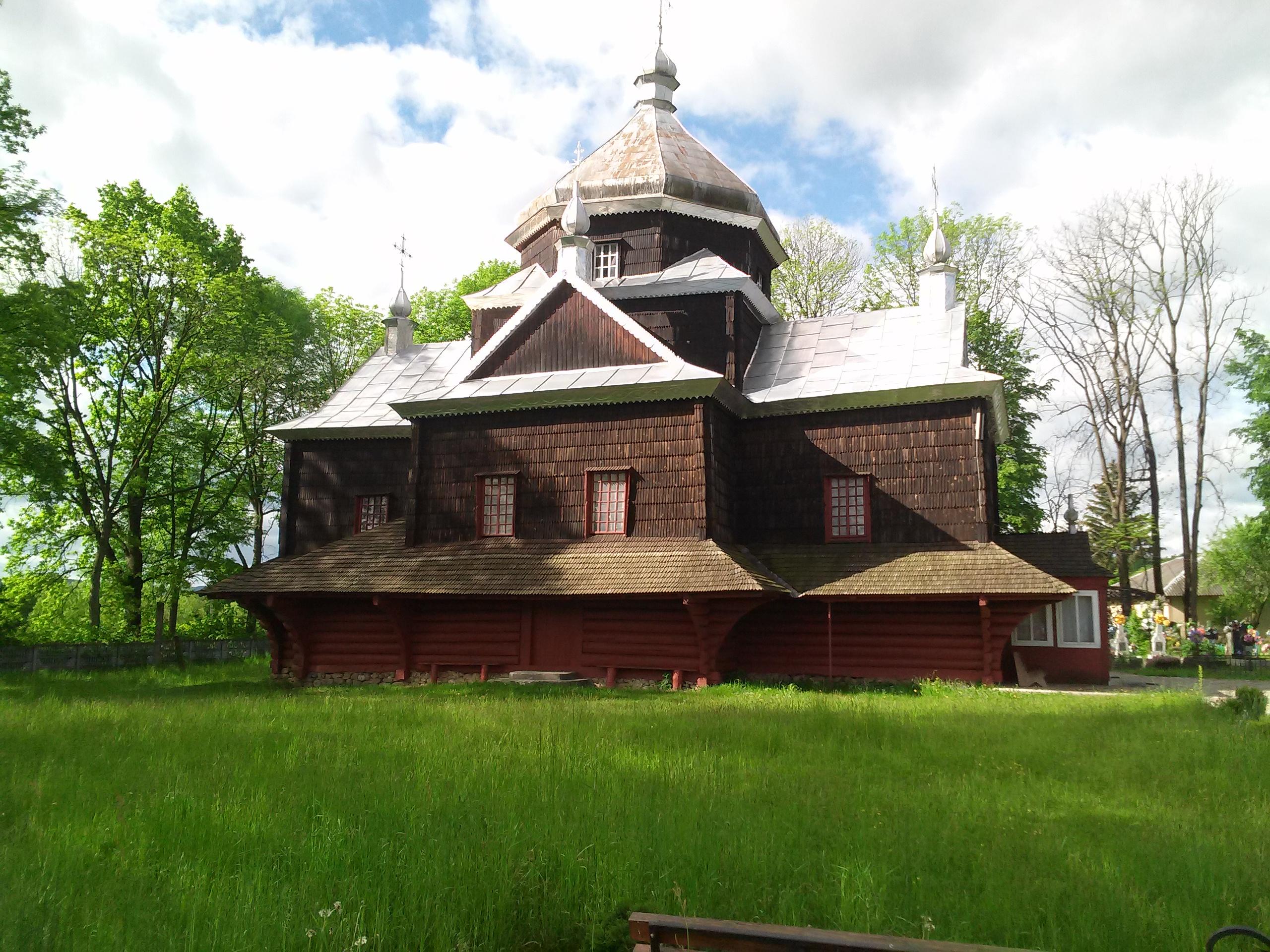 Хрестовоздвиженська церква 1859 року.
