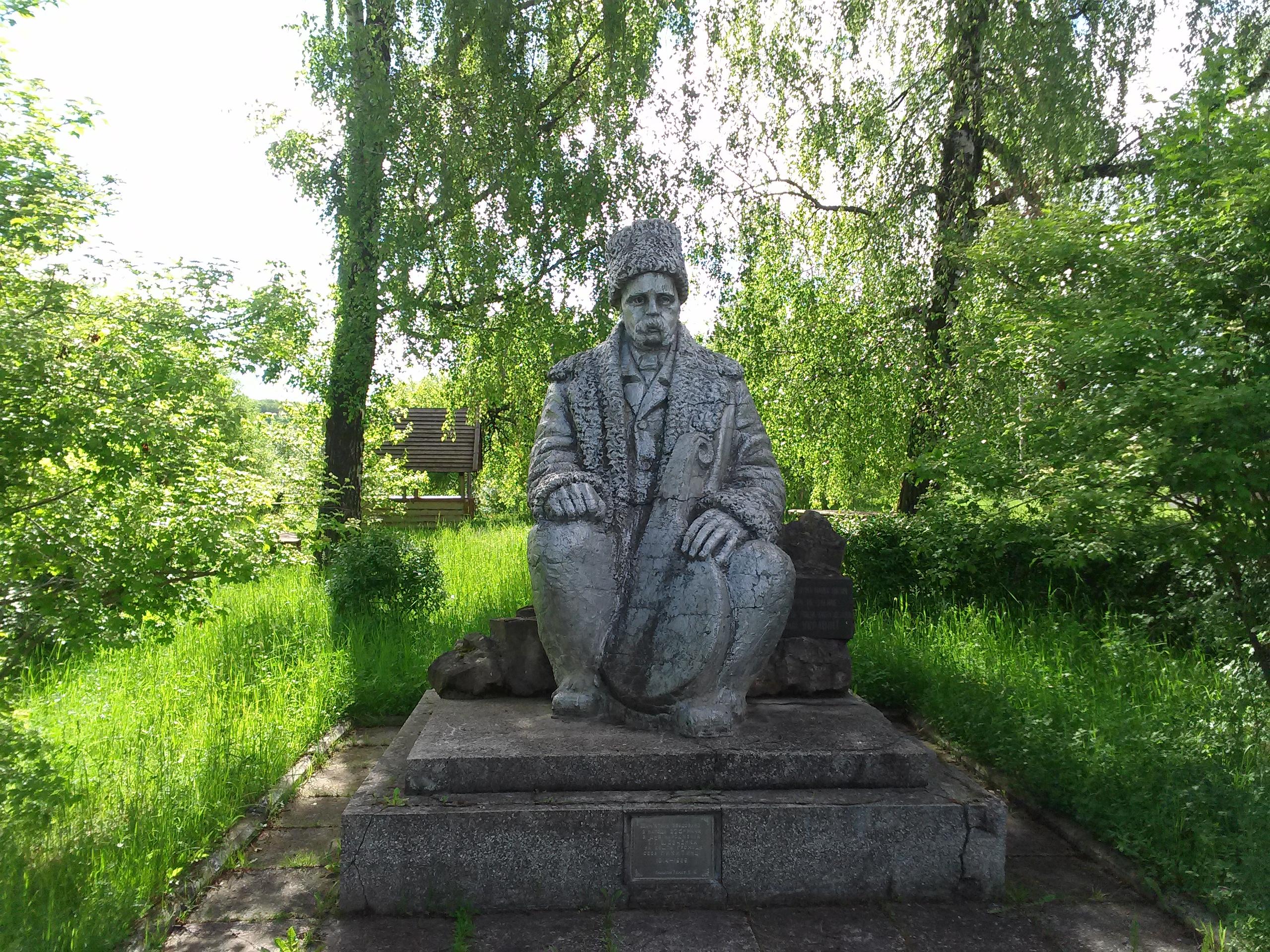 Пам'ятник Т.Г.Шевченко у с. Микитинці (Косівського району)