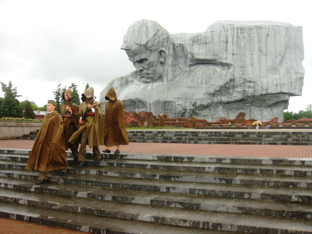Почесний караул Берестейська фортеця
