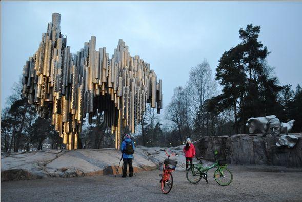 Пам'ятник Яну Сибелиусу в Гельсінкі
